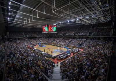 Navarra Arena-Estructura Espacial