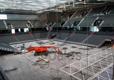Navarra Arena-Space Frame Structure